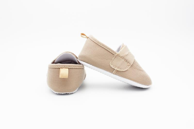 Camel brown Baby Shoes - 4