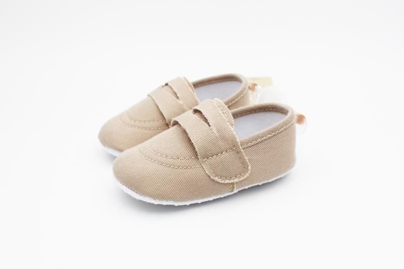 Camel brown Baby Shoes - 2