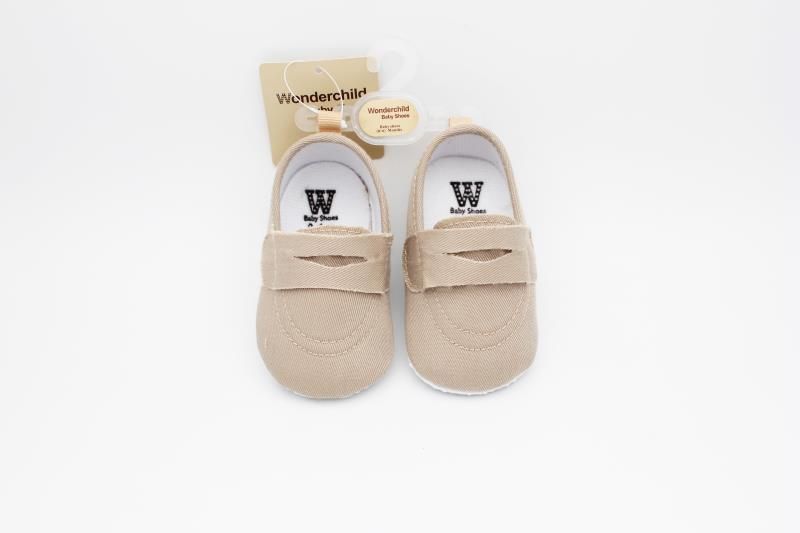 Camel brown Baby Shoes - 3