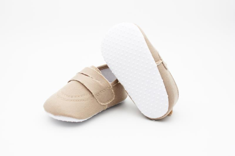 Camel brown Baby Shoes - 1