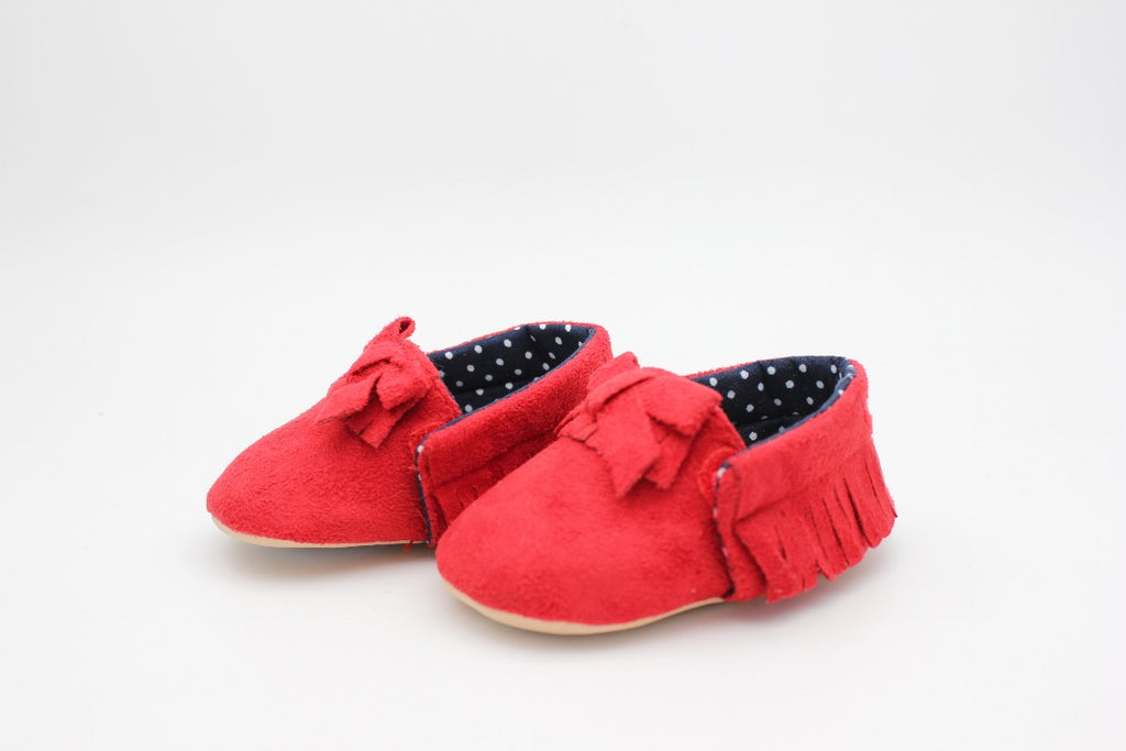 Red Baby Shoes - 2
