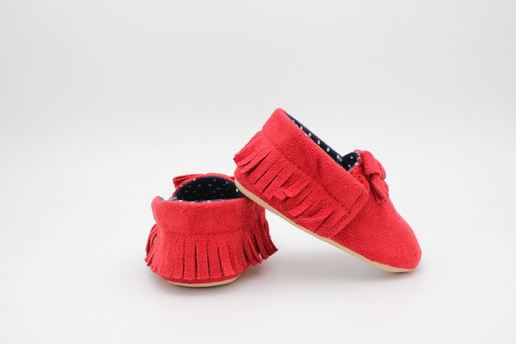 Red Baby Shoes - 3