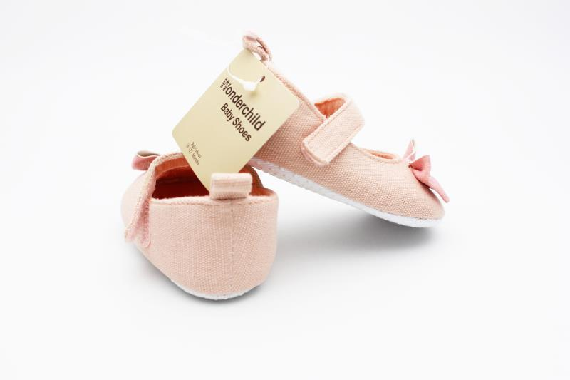 Peach Baby Shoes - 3