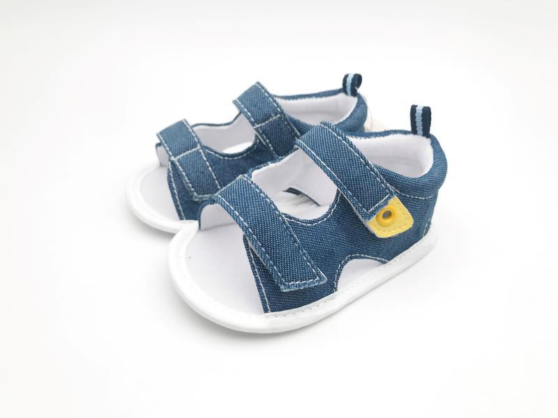 Blue Baby Shoes - 3