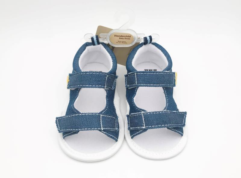 Blue Baby Shoes - 2