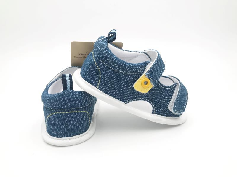 Blue Baby Shoes - 1
