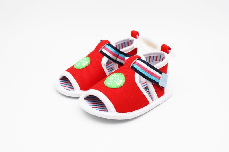 Red and White Baby Shoes - 3