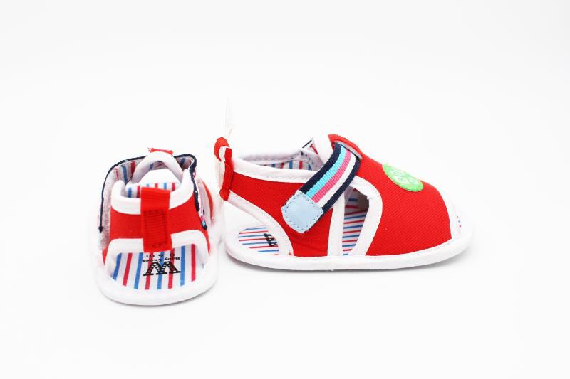 Red and White Baby Shoes - 2