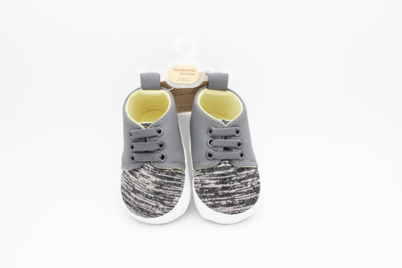 Grey Baby Shoes - 2