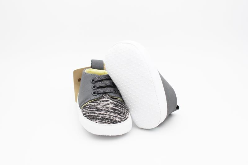 Grey Baby Shoes - 3