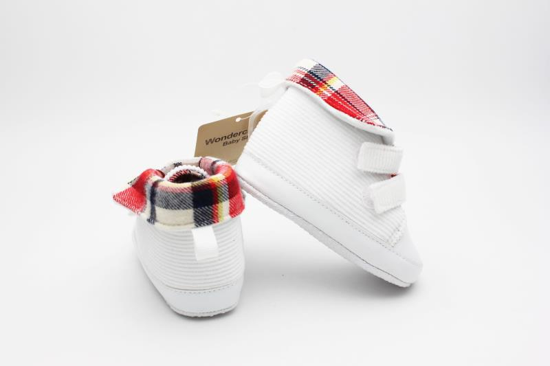 White Baby Shoes - 3