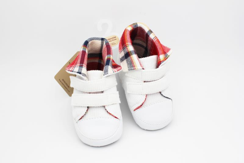 White Baby Shoes - 2
