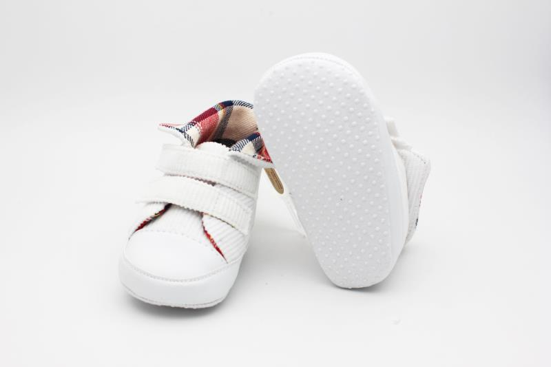 White Baby Shoes - 1