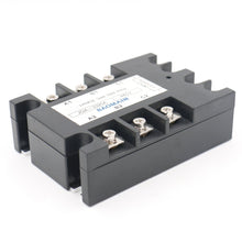 Load image into Gallery viewer, 3 Phase Solid State Relay JGX-3325A 3.5-32 VDC Input 480VAC 25 Amp Output