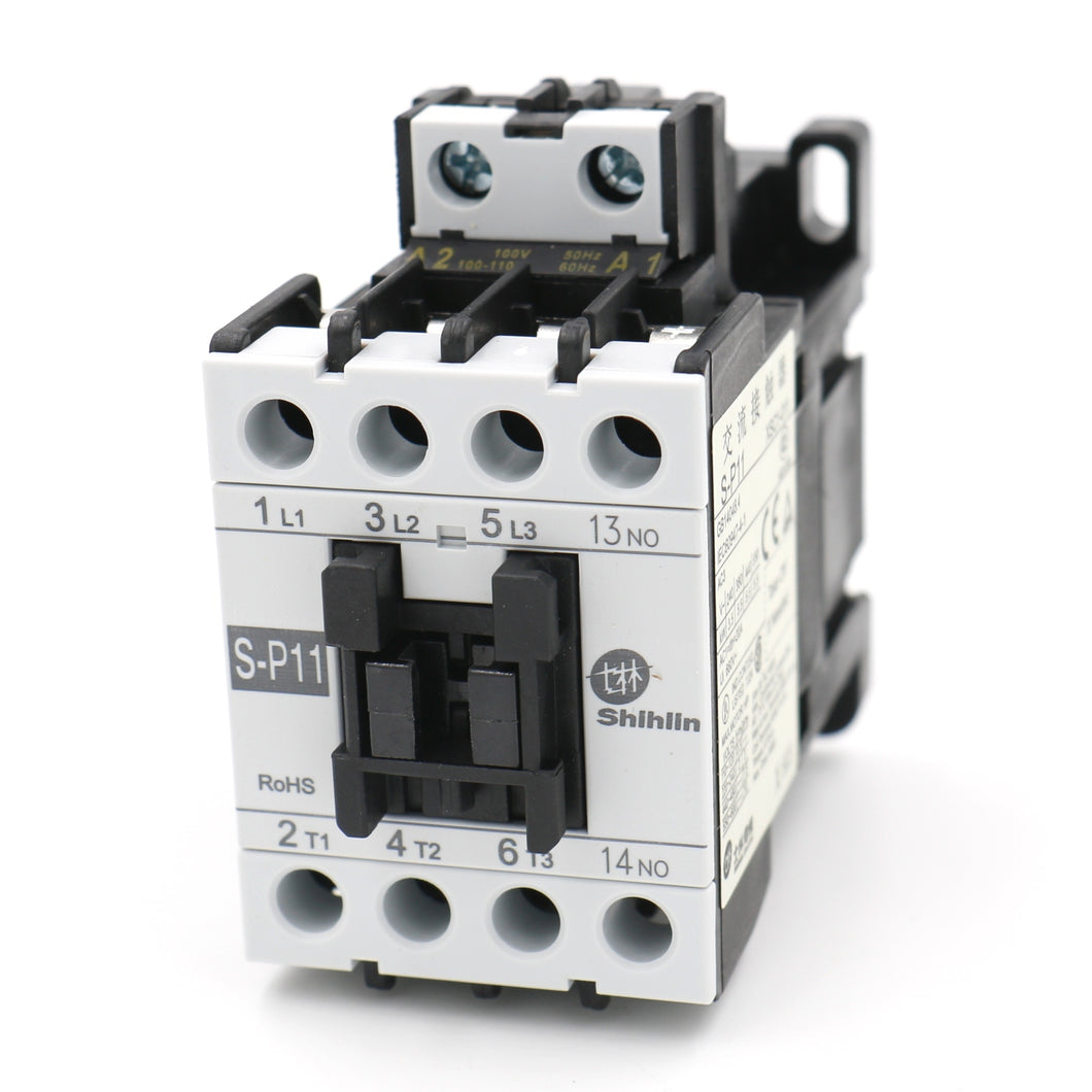Shihlin Electric AC Contactor S-P11 Coil: 110V UL & CSA listed