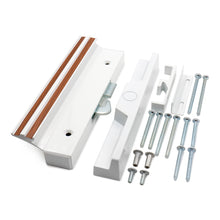 Lade das Bild in den Galerie-Viewer, Sliding Patio Door Handle Set C-1116 with Clamp Type Latch, Extruded Aluminum, White
