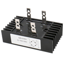 Load image into Gallery viewer, Diode Bridge Rectifier Metal QL100A 100A Amp 1200V 4 Pin