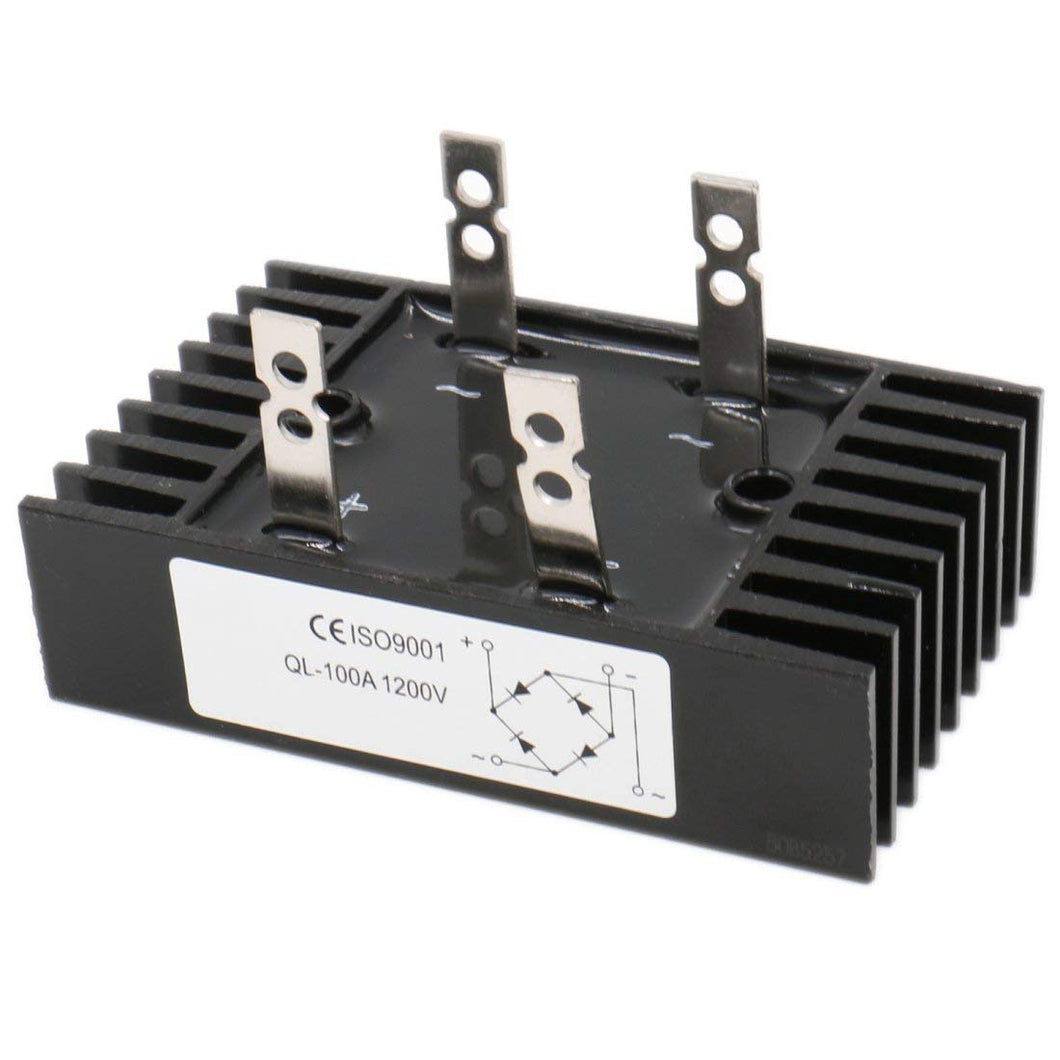 Diode Bridge Rectifier Metal QL100A 100A Amp 1200V 4 Pin