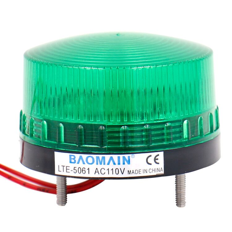 Industrial Signal Round Green Warning light