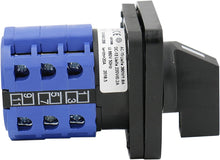 Load image into Gallery viewer, Universal Rotary Cam/Changeover Switch SZW26-20/123.3 660V 20A 3 Position 3 Phase 12 Terminal