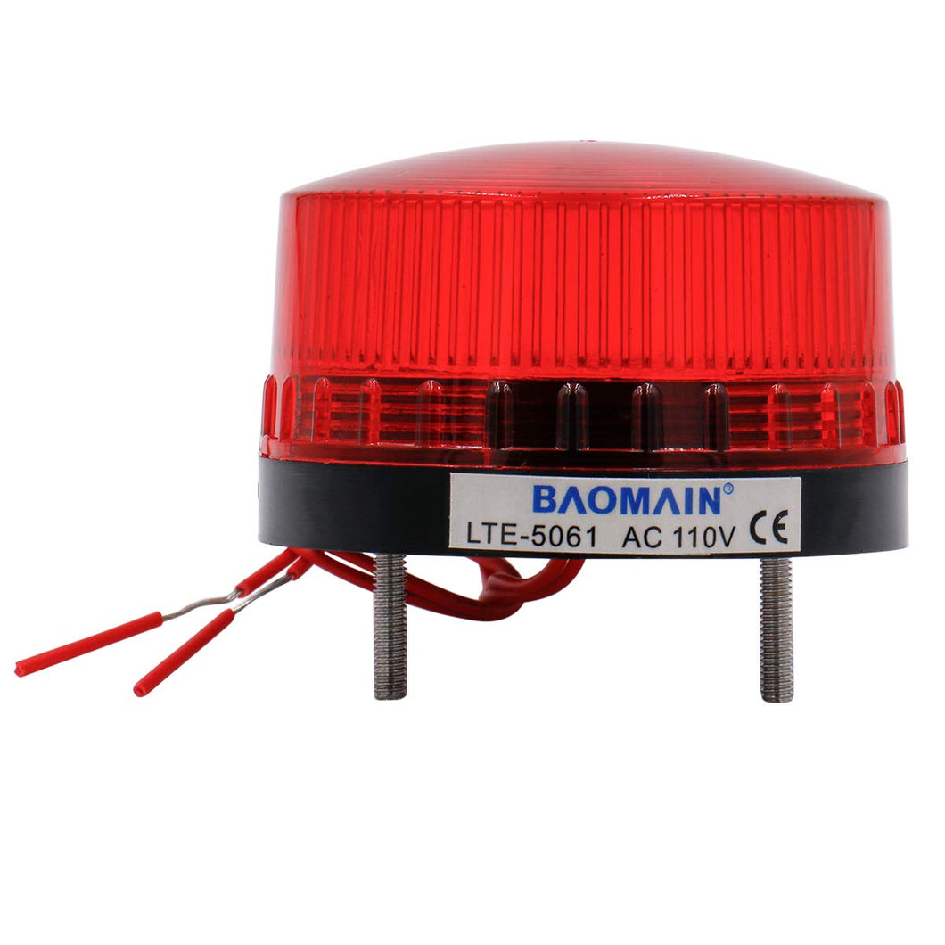 Industrial Signal Round Red Warning Light Blinking Warning lamp LTE-5061