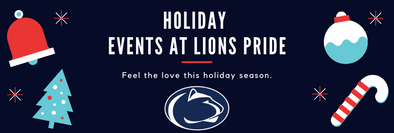 Holiday Events at Lions Pride
