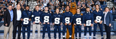 No. 2 Penn State Finishes Regular Season with 40-3 Victory over American University