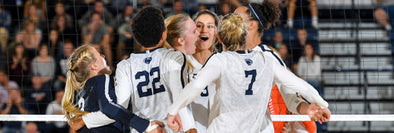 Women's Volleyball Maintains No. 1 Spot after Two Big Ten Wins