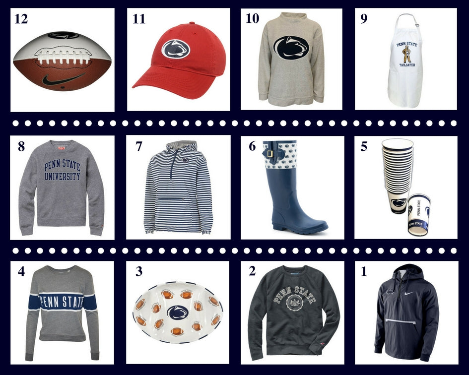 12 Items for Blue-White
