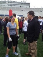 Danielle and Jay Special Olympics