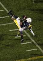 Allen Robinson's one yard line catch against Michigan.  Photo courtesy of Tom Mairs.