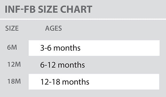 Size Chart - Colosseum - Infant - All