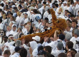 Buy your own nittany lion mascot