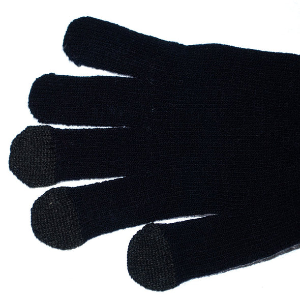 Logo Fit Penn State Texting Knit Gloves - Large