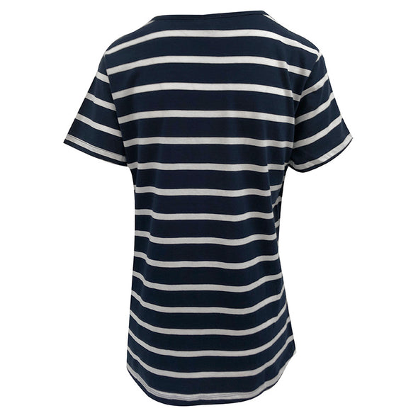 University Girl Striped T-Shirt