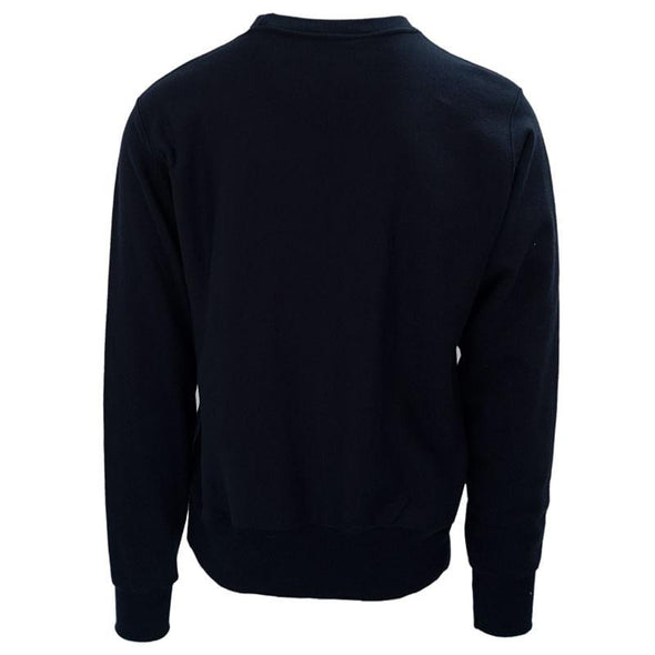 Champion Penn State Heavyweight Twill Navy Crew Neck Sweatshirt - Navy