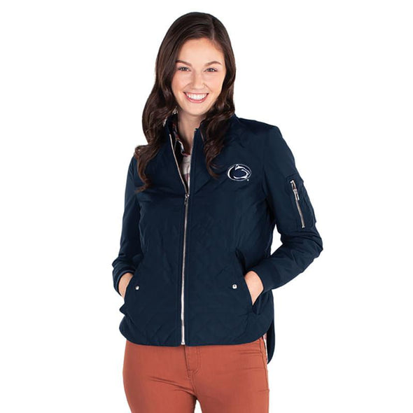 Charles River Ladies Flight Jacket - Navy