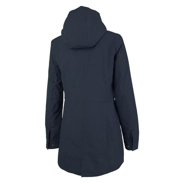 Charles River Ladies Logan Rain Jacket - Navy