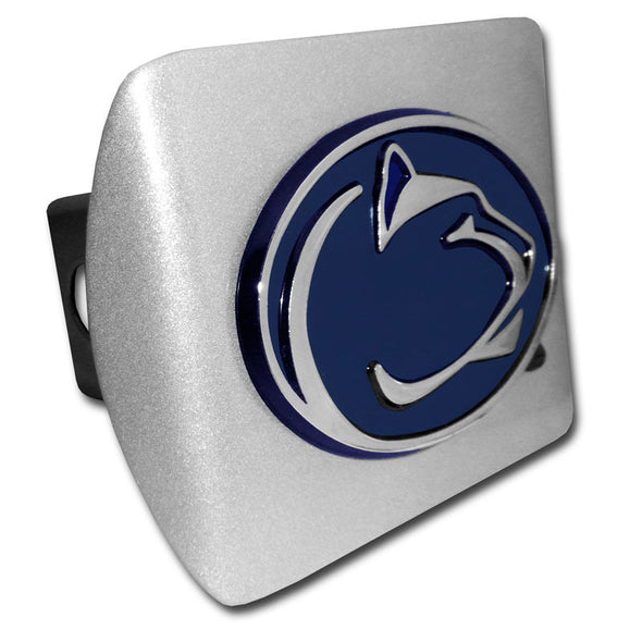 Chrome Hitch Cover - Navy