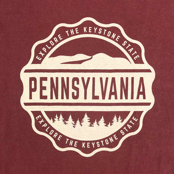 Comfort Colors Explore Pennsylvania T-Shirt