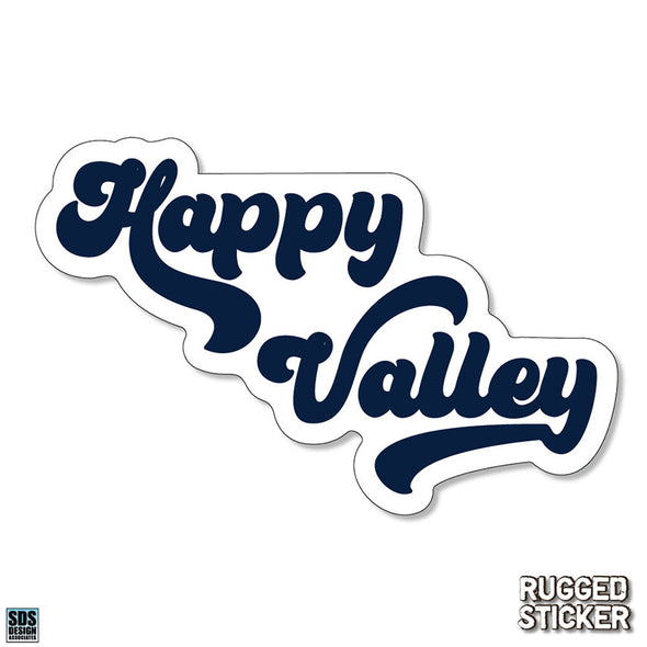 Happy Valley Rugged Sticker