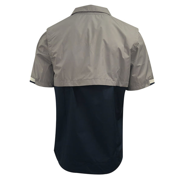 Nike Lightweight Coach 1/2 Zip Short Sleeve Jacket