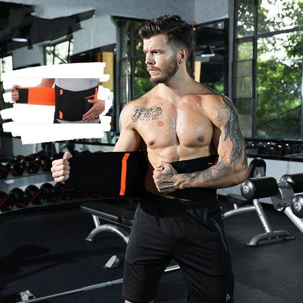 double lower back support