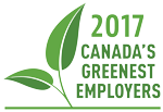 2017 Canada's Greenest Employers logo