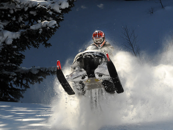 Blasting Through the Snow