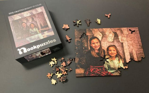Custom Photo Christmas Puzzle