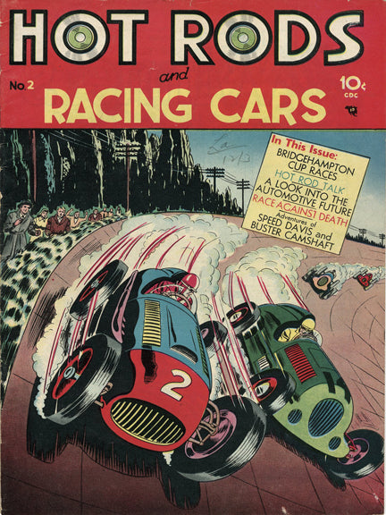Hot Rods and Racing Cars #02