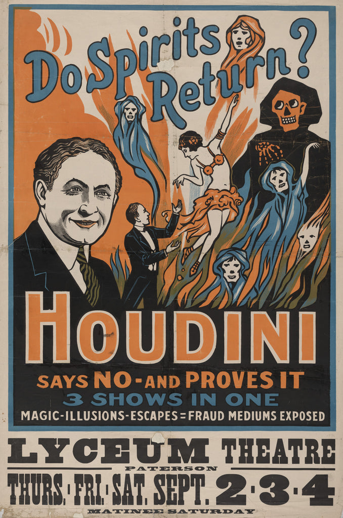 Houdini at the Lyceum