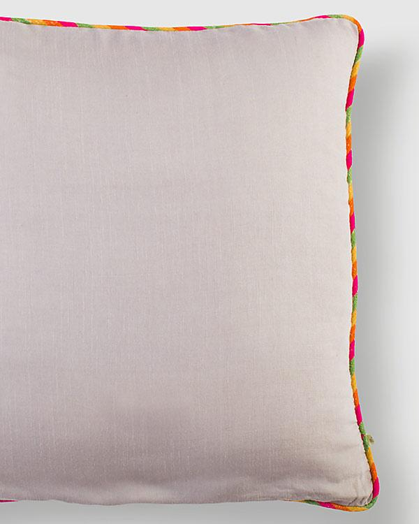 Tussar Cushion - Taupe