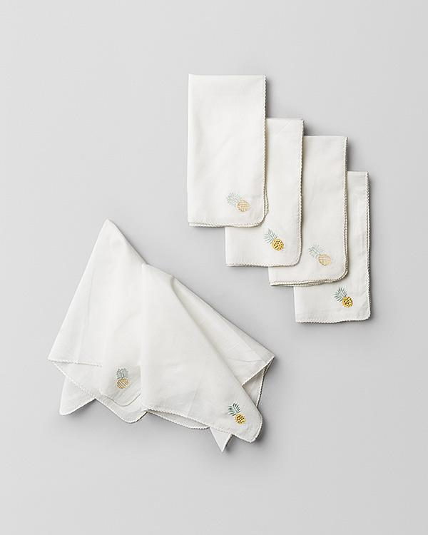 Chin-Chin Pineapple Napkin (Set of 6)